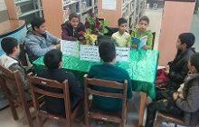 معرفی و جمع خوانی کتاب آموزه های تربیتی در زندگی حضرت زهرا (س) به همت کتابخانه عمومی کوشک