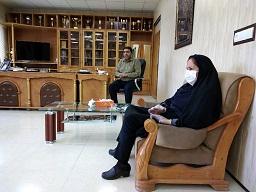 دیدار با شهردار سبزوار به مناسبت روز شهرداری ها با حضور انجمن خیرین کتاب و کتابخانه ساز
