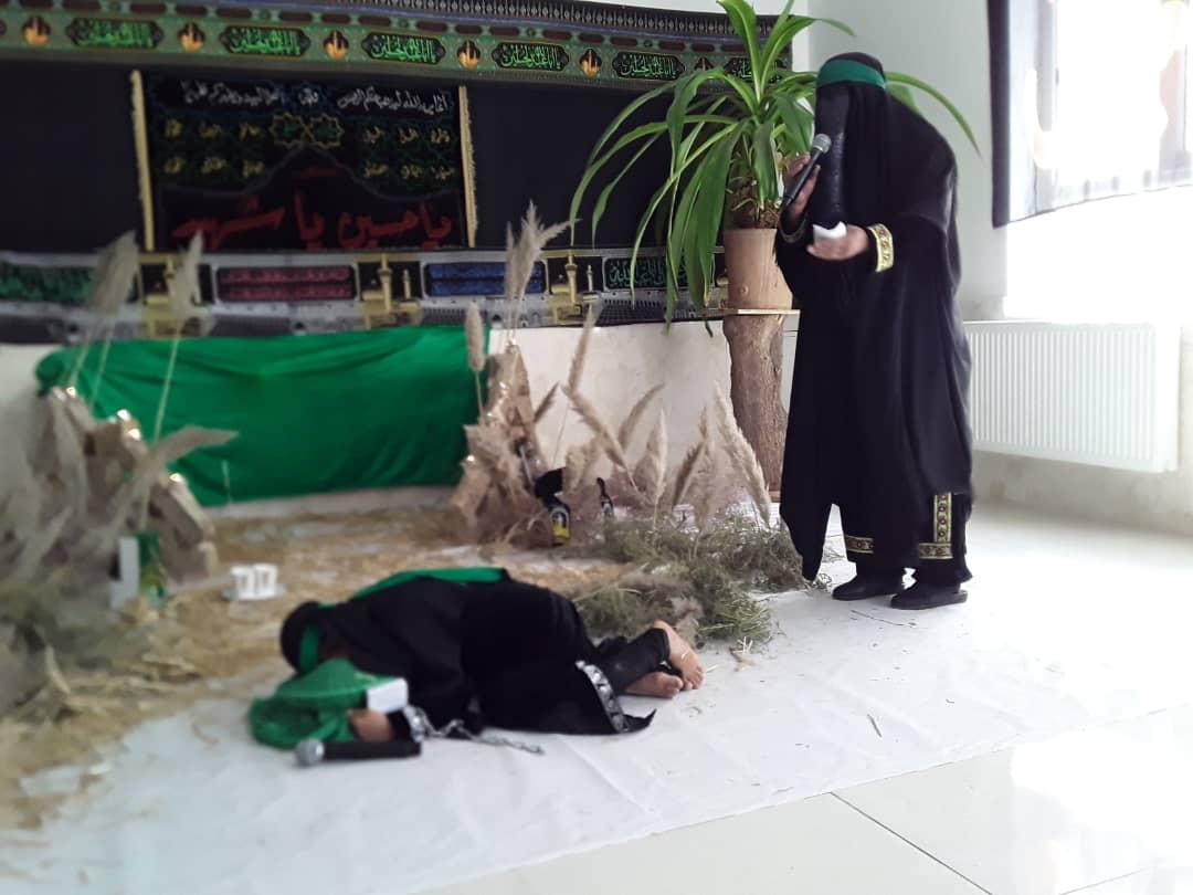 وداع سه ساله کربلا با سر امام حسین (ع) در خرابه شام