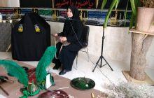 برگزاری قصه گویی در تکیه کتاب مرثیه آفتاب توسط فاطمه بلوچ