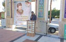 بزرگداشت شهید والا مقام دکتر بهشتی با حضور در گلزار شهدا