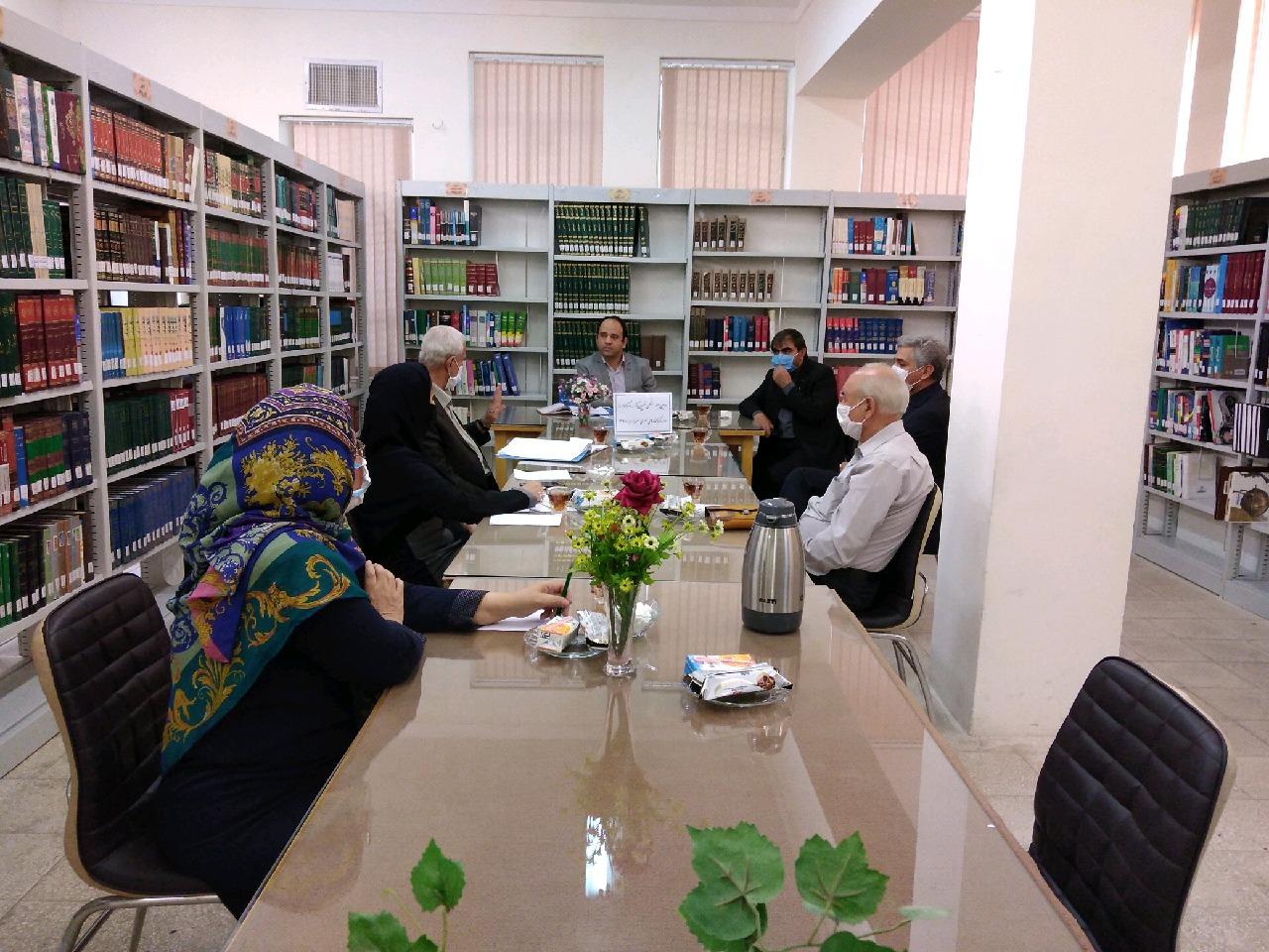 دومین جلسه اعضای هیئت مدیره انجمن خیرین کتابخانه ساز شهرستان سبزواردر راستای  عملیاتی شدن مراحل ساخت کتابخانه شهدای گمنام